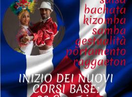Nuovi Corsi 2019 100% Cuba dal 28 gennaio  Salsa Cubana Bachata Reggaeton Gestualita Kizomba