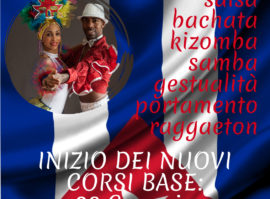 2019 Nuovi Corsi 100% Vera Cuba Milano : Salsa Cubana Bachata Reggaeton Gestualita Kizomba